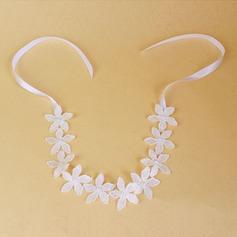 Belle Perles d'imitation/Dentelle Fleurs et plumes/Bandeaux