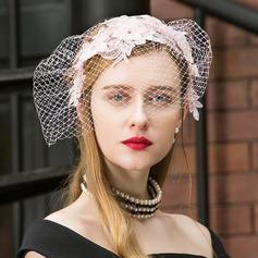 Dames Betoverend/Elegant/Het oog Springende/Mooi Polyester Fascinators
