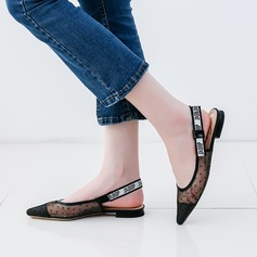 Women's Mesh Flat Heel Sandals Flats Closed Toe With Others shoes