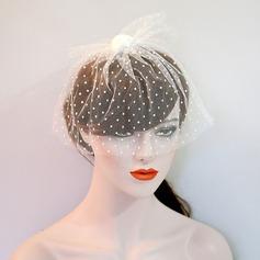 Damen Schöne Net Garn Kopfschmuck