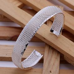 Härlig Silver Damer' Mode Armband