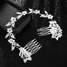 Ladies Beautiful Alloy Headbands With Rhinestone (Sold in single piece) (042164694)