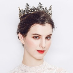 Dame Smukke Legering Tiaraer med Crystal