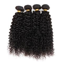 4A Non remy Frisé les cheveux humains Tissage en cheveux humains (Vendu en une seule pièce) 100 g