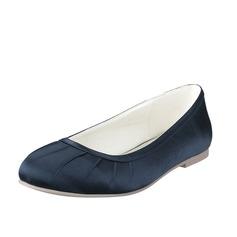 Femmes Soie Talon plat Chaussures plates