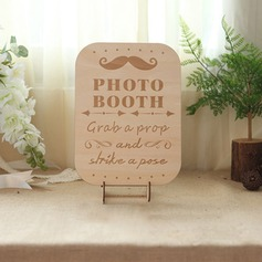 Simple/Classic Nice Wooden Wedding Sign With Easel