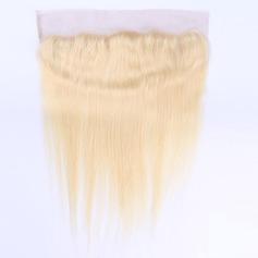 5A Virgin / remy Tout droit les cheveux humains Fermeture (Vendu en une seule pièce) 70g