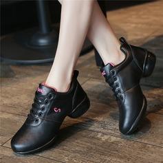 De mujer Cuero Zapatillas Estilo Moderno Jazz Zapatillas Zapatos de danza