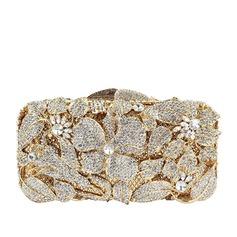 Especial Cristal / Diamante/Aleación Bolso Claqué/Bolso de Lujo