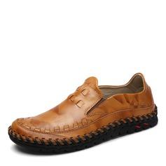 Мужская натуральня кожа Пенни Лоафер вскользь Men's Loafers