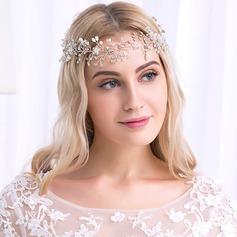 Ladies Beautiful Rhinestone/Alloy Headbands With Rhinestone (042115321)