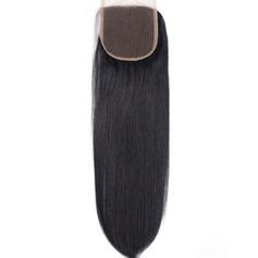"""4""""*4"""" 5A Jungfrau / Remy Gerade Menschliches Haar Bedeckung (Einzelstück verkauft) 50g"""