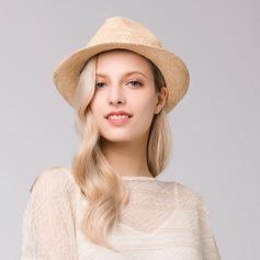 Signore Elegante Rafia paglia Cappello di paglia