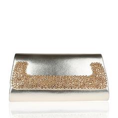Elegant PU Grepp/Handledsväskor/Totes väskor/Brudväska/Mode handväskor/Makeup Väskor/Lyx Bag