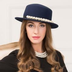 Dames Élégante Coton avec De faux pearl Disquettes Chapeau