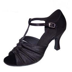 Femmes Talons Sandales Latin avec Lanière de cheville Ouvertes Chaussures de danse