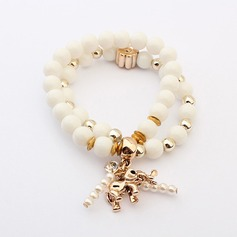 Unique Alloy With Imitation Pearl Ladies' Bracelets & Anklets