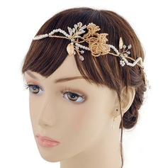 Ladies Glamourous Imitation Pearls Headbands (Sold in single piece)