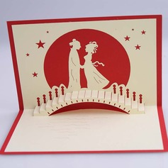 Three-dimensional Happy Lover Greeting Cards
