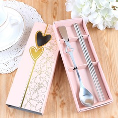 Personalized Stainless Steel Serving Sets