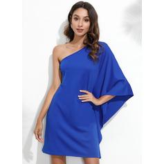 One-Shoulder polyester Modeklänningar (293237650)