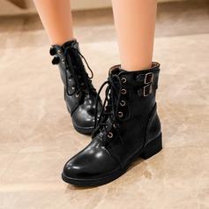 Naisten PU Chunky heel Avokkaat Kengät أحذية