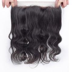 360 Frontal 4A Nicht remy Körper Menschliches Haar Bedeckung (Einzelstück verkauft) 100g