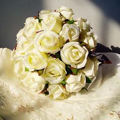Doux Forme libre Satiné/Soie artificielle Bouquets de mariée -