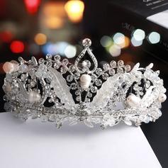 Filles Magnifique Alliage/De faux pearl Tiaras