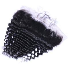 5A Virgin / remy Profond les cheveux humains Fermeture (Vendu en une seule pièce) 70g