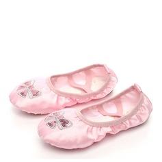 Kinder Satin Flache Schuhe Ballett Tanzschuhe