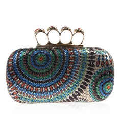 Shining Sequin Clutches/Top Handle/Minaudiere