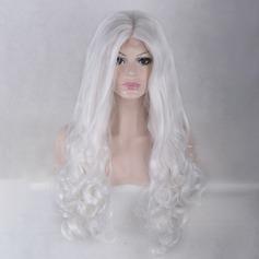 Loose Wavy Syntetiska peruker Lace Front Parykar