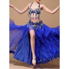 De mujer Ropa de danza Algodón poliéster Gasa Danza del Vientre Accesorios