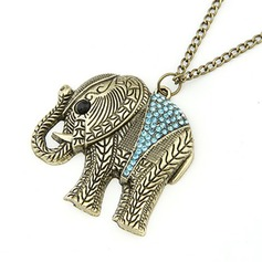 Heilige Olifant Legering Dames Fashion Ketting