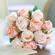 Romântico Seda artificiais Buquês de noiva/Decorações/Flores da Tabela do Casamento (conjunto de 3) - (123104967)