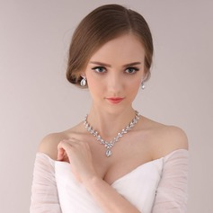 Beautiful Alloy/Rhinestones Ladies' Jewelry Sets (011113976)