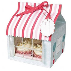 Patissiere Cupcake Boxes With Ribbons (Set of 12)
