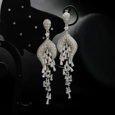Unique Zircon Fashion Earrings (Set of 2)