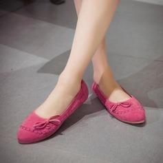 De mujer Ante Tacón plano Planos Plataforma con Bowknot zapatos