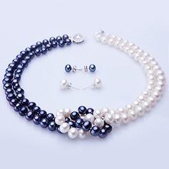 "Attractive Pérola/""A"" nível pérola Senhoras Conjuntos de jóias"