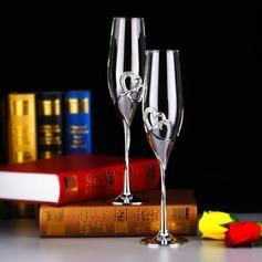 Elegant Skåle Glass Sett med Rhinestone (126141429)