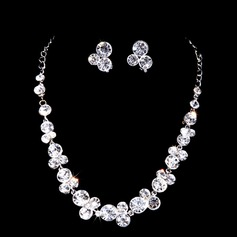 Shining Alloy/Rhinestones Women's Jewelry Sets