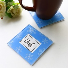 """Tea Time""/Lovely Square Glass Tea Party Favors"