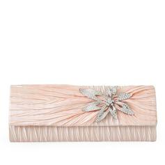 Elegant Satin/Crystal/ Rhinestone Clutches/Wristlets