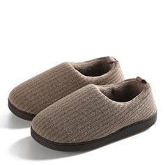 Hombres tejido Casual Zapatillas de andar por casa de caballero (263172390)