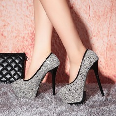Femmes Pailletes scintillantes Talon stiletto Escarpins