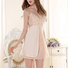Satäng/polyester Brud/Feminin Nattkläder/Brudunderkläder
