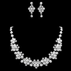 Gorgeous Alloy/Rhinestones Ladies' Jewelry Sets