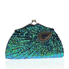 Elegant Paljetter/Glittrande Glitter Grepp/Brudväska/Mode handväskor/Makeup Väskor/Lyx Bag